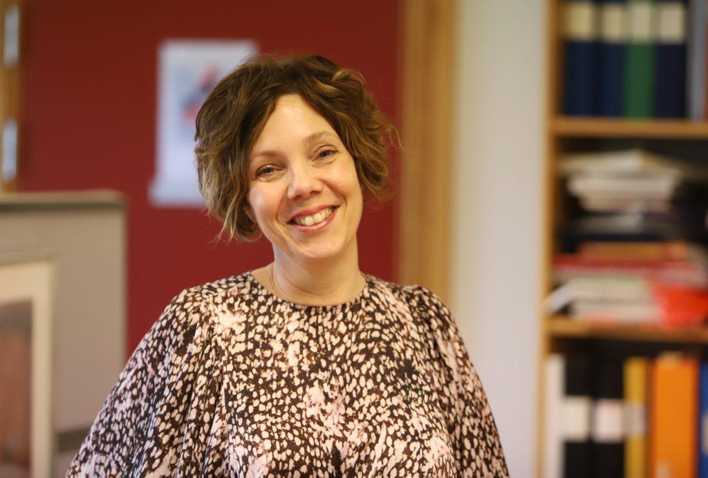 En bild på läraren Anna-Karin Brogren Hansson