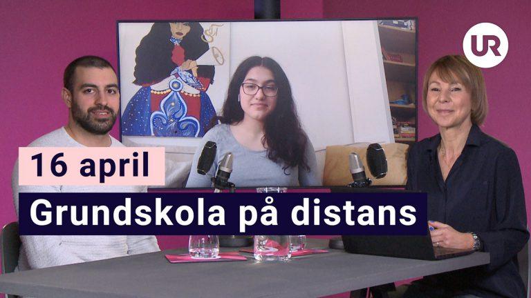 Skola Hemma, 16 april - Grundskola på distans