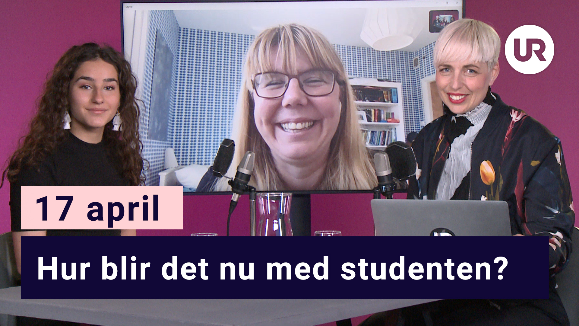 Skola Hemma, 17 april - Studenten