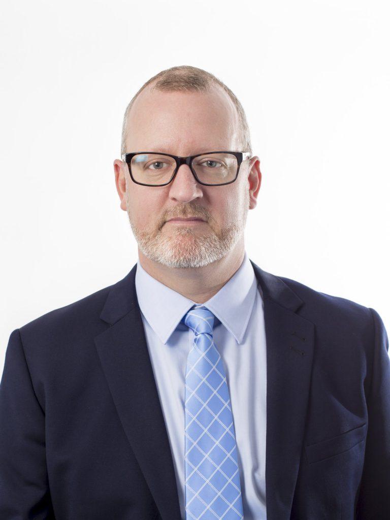 Edward Jensinger, rektor, NTI-gymnasiet