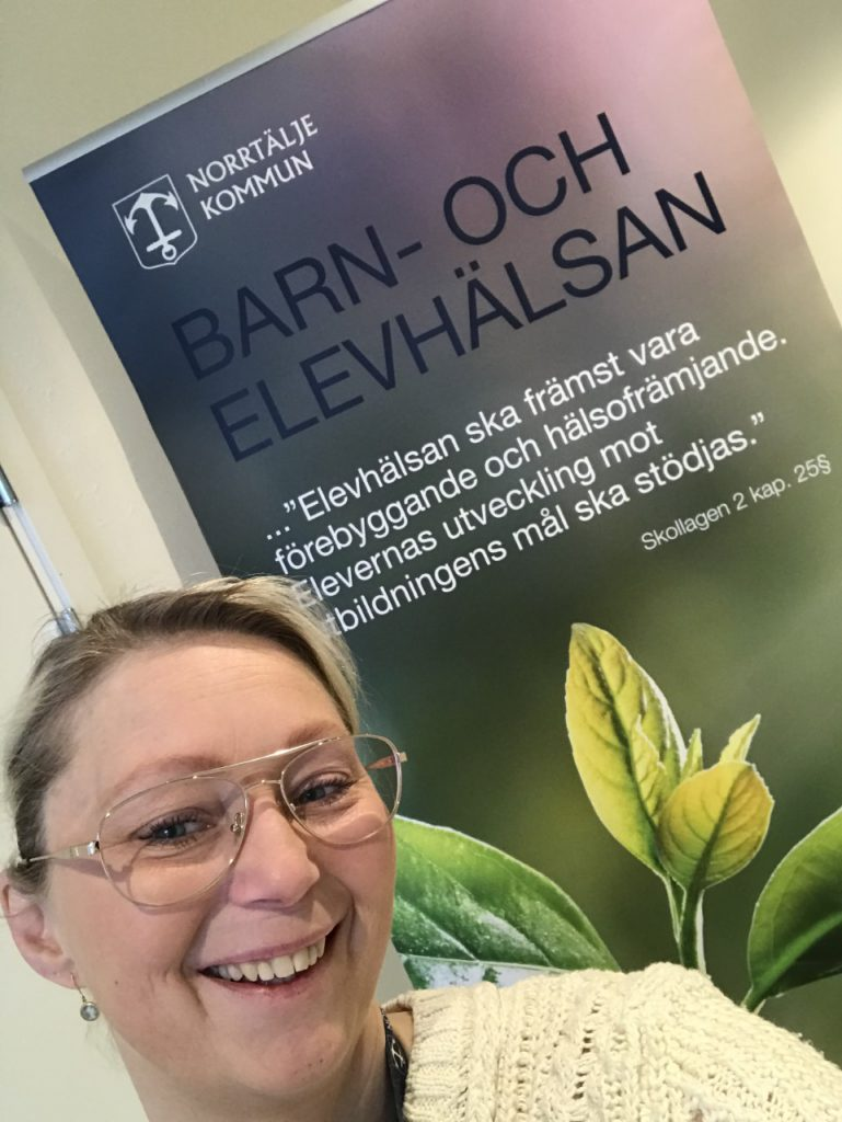Carina Forsberg, enhetschef för centrala barn- och elevhälsans stöd och utveckling i Norrtälje kommun