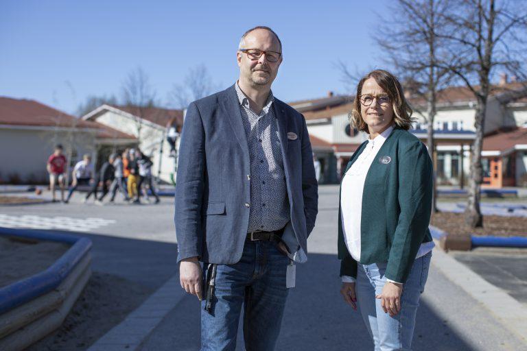 Anders Grundström & Linda Holmqvist