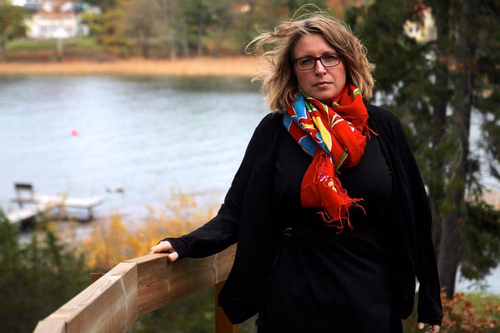 Emma Rosengren, rektor för Foucaultgymnasiet i Södertälje